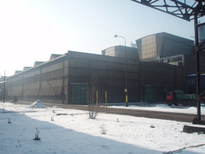 OFZ crushing line & products storage area