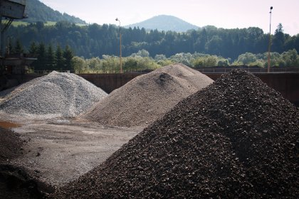 OFZ ore warehouse