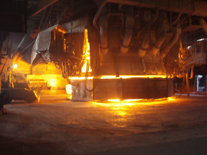 OFZ electric arc furnace