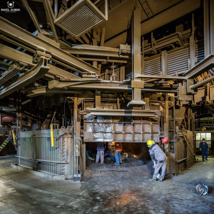 OFZ furnace shell repair